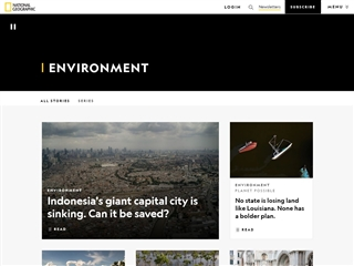 National Geographic : Environment