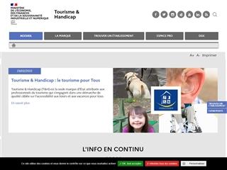 Tourisme & Handicap - Lieux Labellisés et Accessibles