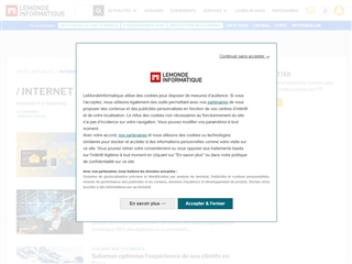 Le Monde Informatique : Internet et e-business