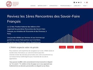 INMA - Institut National des Métiers d'Art