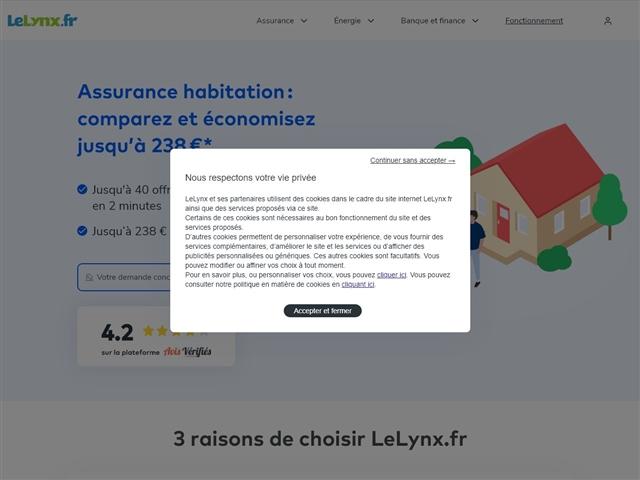 Le Lynx.fr : Assurance habitation
