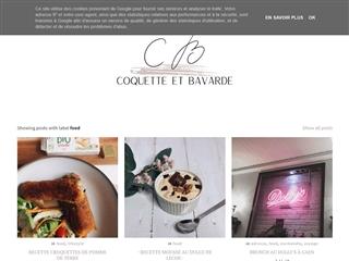 Coquette et Bavarde : Food