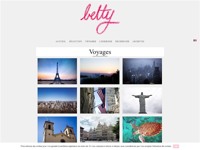 Betty : Voyages