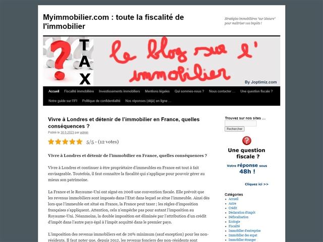 My Immobilier.com