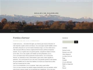 Boules de Fourrure