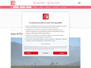 RFI : Asie & Pacifique