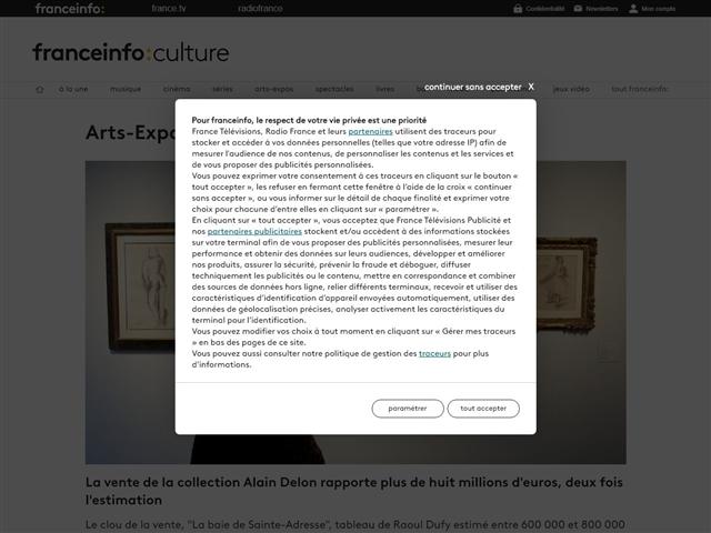 FranceTV Info : Culture : Arts