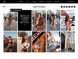 Negin Mirsalehi : Fashion