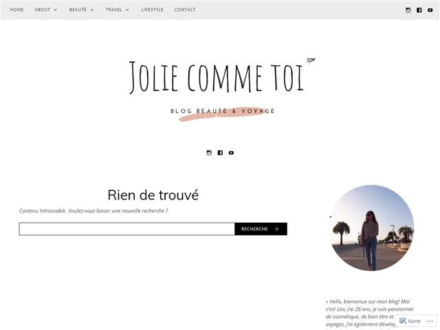 Jolie comme Toi : Girl Boss