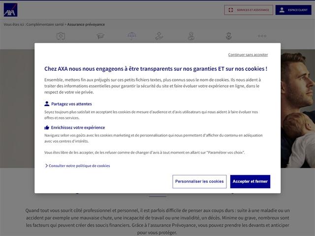 AXA : Prévoyance