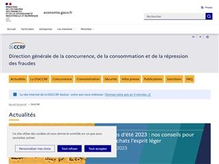 Direction Générale de la Concurrence, de la Consommation et de la Répression des Fraudes (DGCCRF)