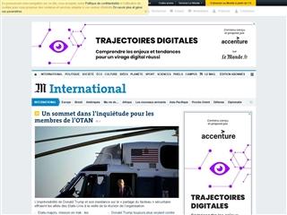Le Monde : International