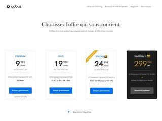 Qobuz : abonnement streaming