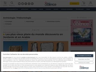 Pour la Science : Archéologie