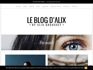 Le Blog d'Alix : Beauté