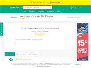 Ma-reduc.com : Conforama