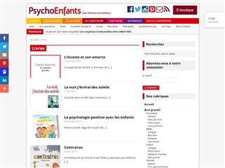 Psycho Enfants Magazine : Livres Enfants