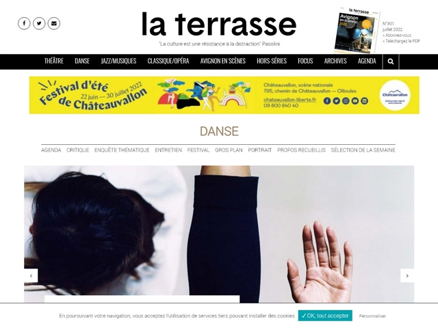 La Terrasse : Danse
