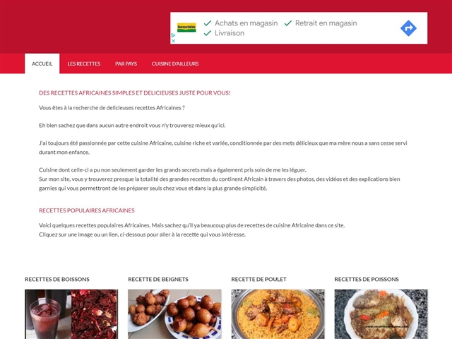 Recettes Africaine