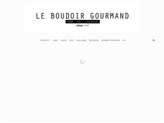 LE BOUDOIR GOURMAND