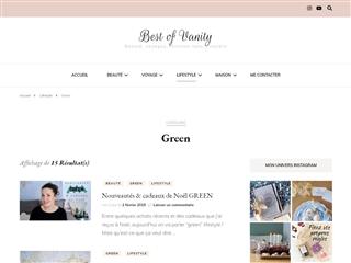 Best of Vanity : Green