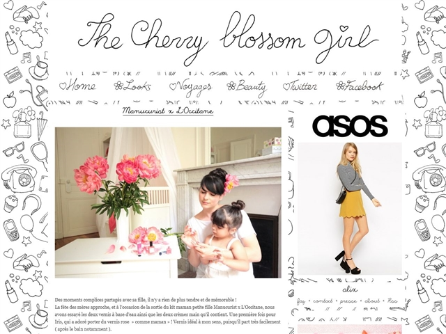 The Cherry Blossom Girl : Baby and Kids