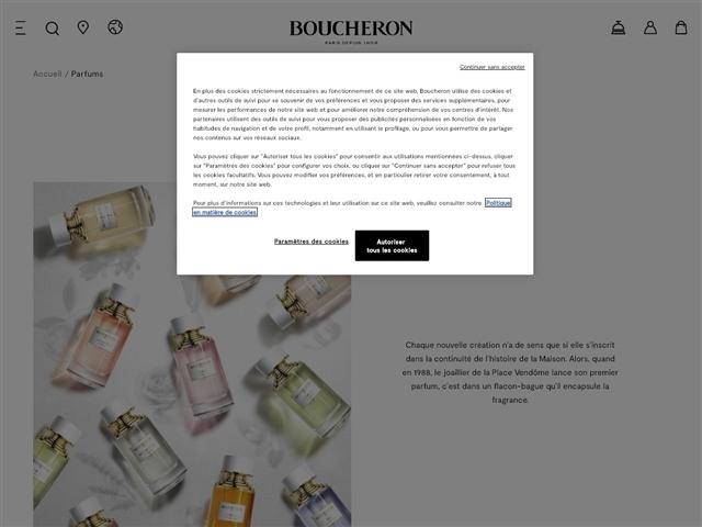 Boucheron : Parfums