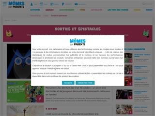 Mômes.net : Sorties en Famille