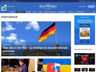 Revue Politique et Parlementaire : International