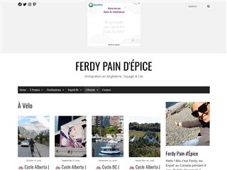 Ferdy Pain d'Epice  : À Vélo