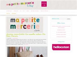 Ma Petite Mercerie, le Blog