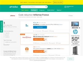 Ma-reduc.com : Willemse