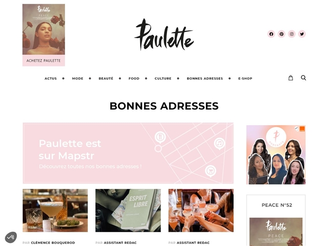 Paulette : Bonnes adresses