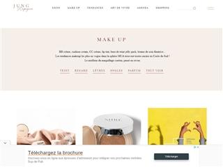Jung Magazine : Makeup