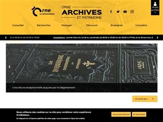Orne (61) - Archives départementales