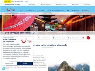 TUI - Aventuria : Le Voyage Culturel