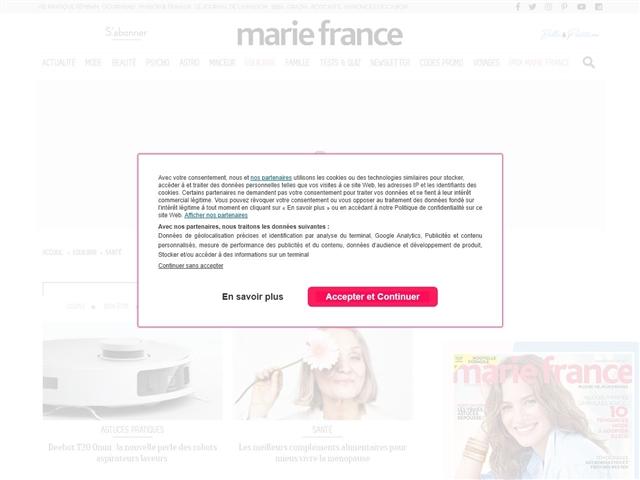 Marie France : Santé