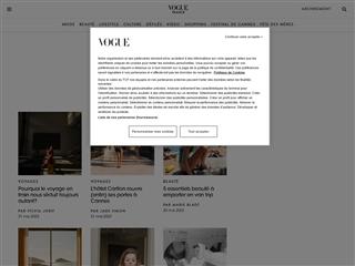 Vogue : Voyages
