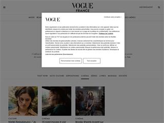Vogue : Cinéma