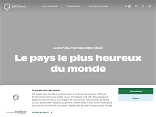 Guide officiel de tourisme en Finlande