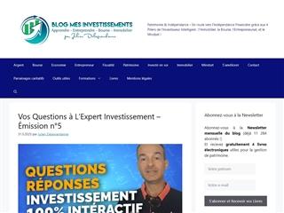 Blog mes Investissements.net