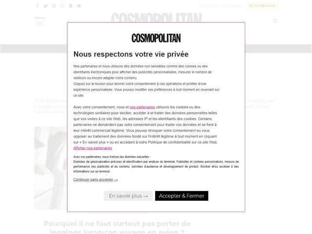 Cosmopolitan : Voyages