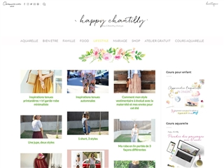 Happy Chantilly : Mode