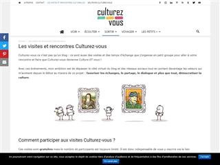 Culturez-Vous : Les Visites Rencontre Culture