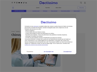Doctissimo : Chirurgie esthétique
