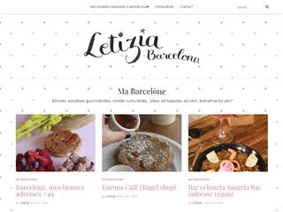 Letizia Barcelona : Guide de Voyage Barcelone