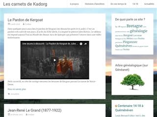 Les carnets de Kadorg
