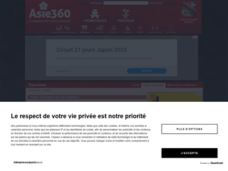 Asie 360 : Guides touristiques