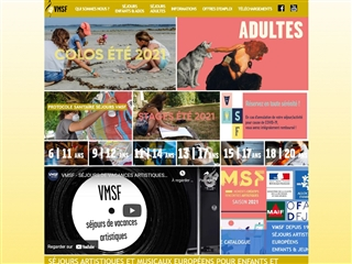 VMSF - Séjours Art et Musique pour 6 / 20 Ans