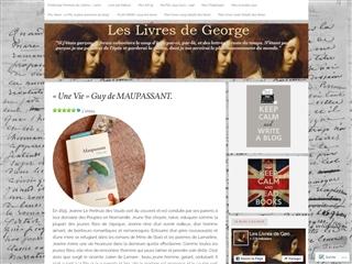 Les livres de George Sand et moi